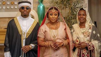Diamond's sister Esma Platnumz holds 2nd exquisite wedding (Photos & Video)