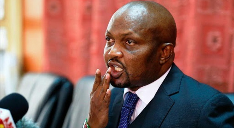 Kenyans react to Moses Kuria's early morning tweet on 2/3 Gender rule being a mistake