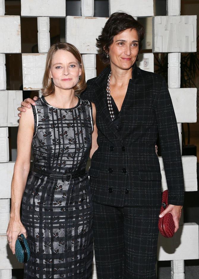 Aleksandra Hedison i Džodi Foster