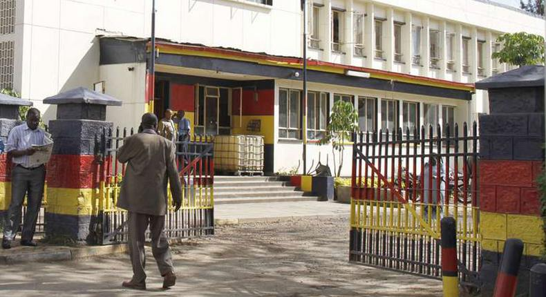 File Photo: Central Police Station. Drama as Jubilee governor storms police station, releases 10 robbery with violence suspects