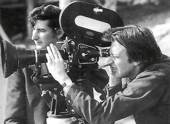 Goran Paskaljevic, 1975. godina na snimanju filma Čuvar plaže u zimskom periodu