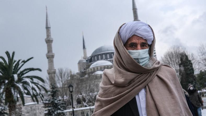 Zima w Stambule
