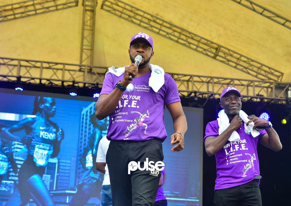Odunlade Adekola at Access Bank Lagos City Marathon 2019
