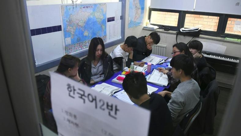 There are seven special-purpose academies across South Korea, offering defectors free education
