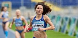 Joanna Jóźwik ma wiele talentów. Szybko biega i szyje sobie kiecki