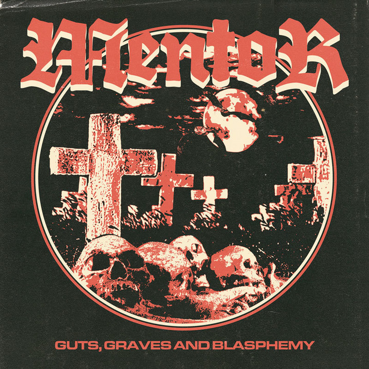 "MENTOR – ""Guts, Graves And Blasphemy"""