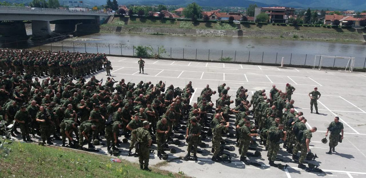Kraljevo, Vojska Srbije, MUP, vežba, Zajednički udar 2018