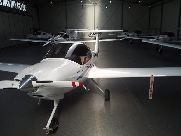 Część floty Akademickiego Ośrodka Szkolenia Lotniczego przy WSOSP w Dęblinie