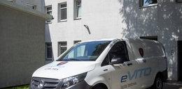 Straż miejska w Łodzi testuje elektryczną furgonetkę