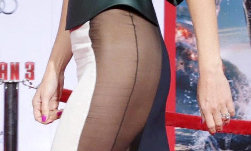 Gwyneth Paltrow bez majtek na salonach