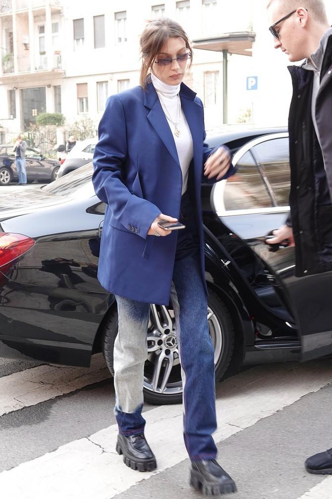 Oversajz modno izdanje Bele Hadid