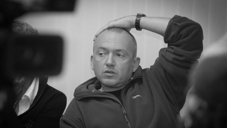 Rosja Moskwa 20.10.2010. Moskiewski korespondent telewizji Polsat Wiktor Bater. bpt PAP/PAP/ Grzegorz Michałowski