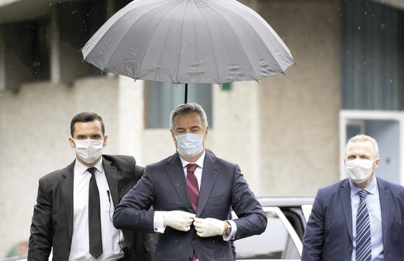 Milo Đukanović - zdravlje pre svega