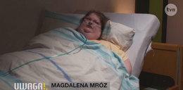 Magda tyje nawet od wody. Waży ponad 200 kg