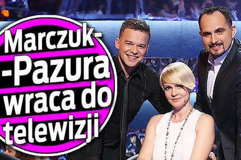 Marczuk-Pazura wraca do telewizji!