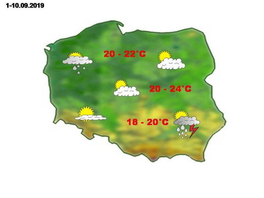 Ciepło czy deszczowo? Znamy prognozę pogody na jesień