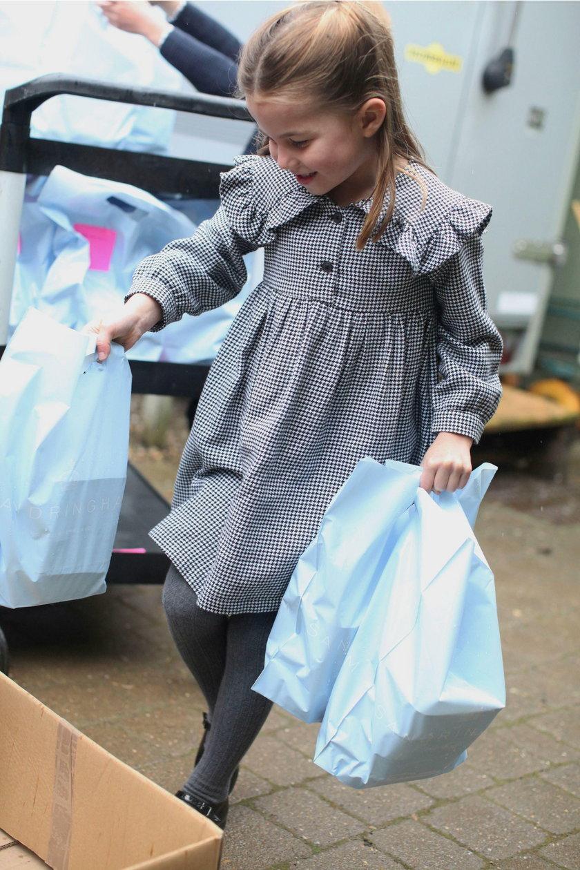 Britain's Princess Charlotte celebrates her fifth birthday