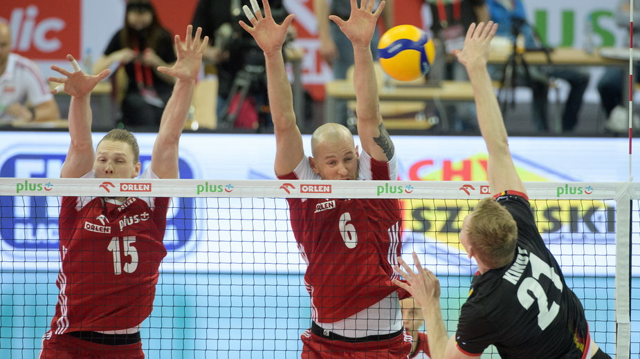 Mecz siatkarzy Polska - Belgia