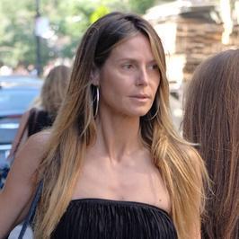 Heidi Klum bez makijażu. To niecodzienny widok...