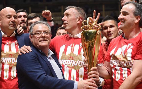 Crvena zvezda je aktuelni šampion ABA lige