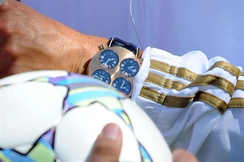 Cristiano Ronaldo ma super zegarek