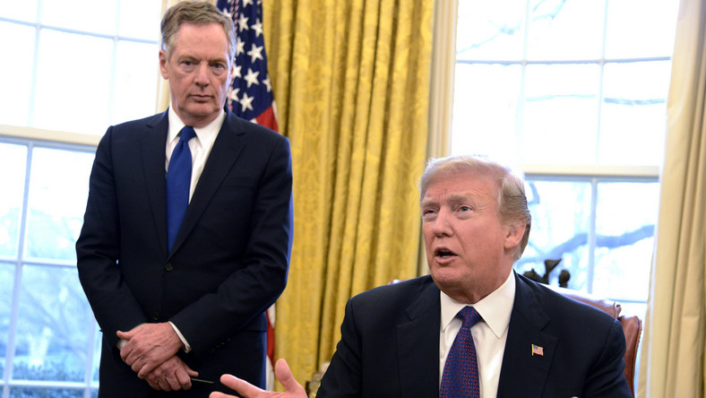 Robert Lighthizer i Donald Trump
