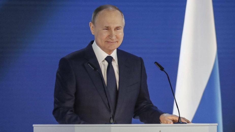 Władimir Putin wygłasza orędzie o stanie państwa
