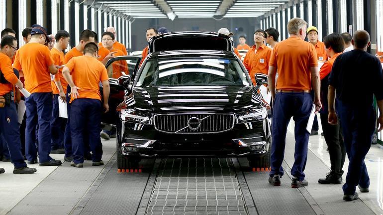 Produkcja Volvo w Chinach