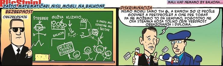 Blic Strip za 26. januar 2016.
