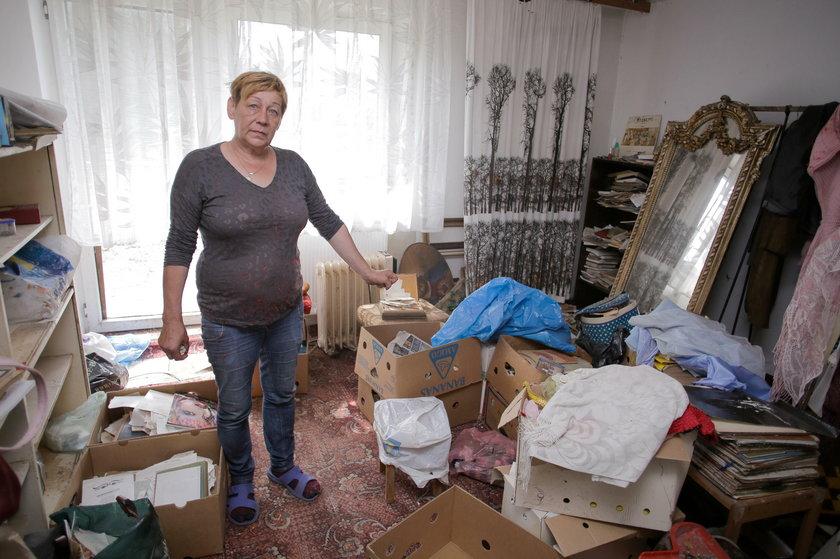 Dom po Villas popada w ruinę