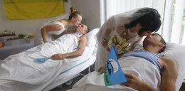 Ciężko ranni żołnierze wzięli ślub w Kijowie