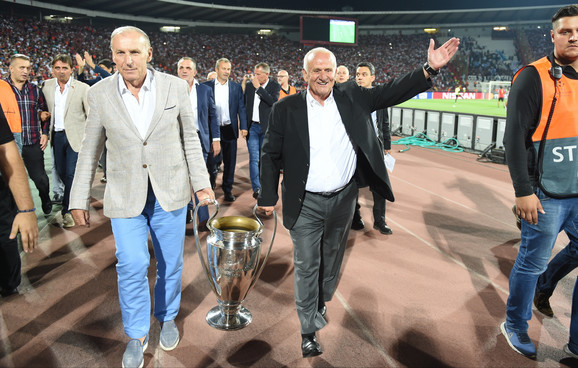 Dragan Džajić i Ljupko Petrović