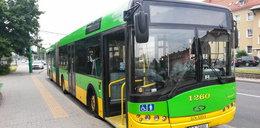 Miejski autobus ostrzelany w Poznaniu