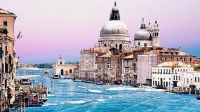 Zamarznięte kanały w Wenecji? To tylko fantazja zdolnego grafika