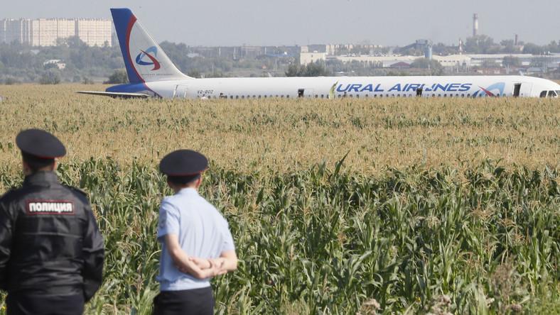 Awaryjne lądowanie Airbusa