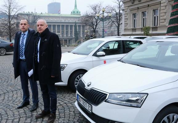 Ministar Lončar i gradonačelnik Radojičić
