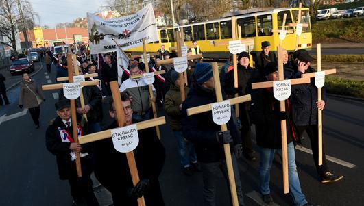 Uroczystości w Szczecinie. Kasprzek: robotnicy obudzili ducha narodu