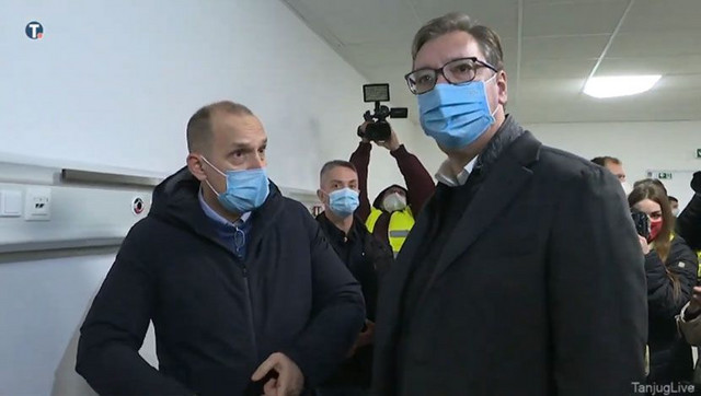 Zlatibor Lončar i Aleksndar Vučić