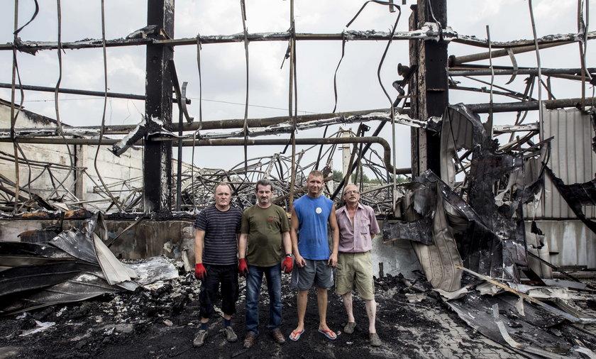 Zawiercie, pożar, zniszczenia, fabryka