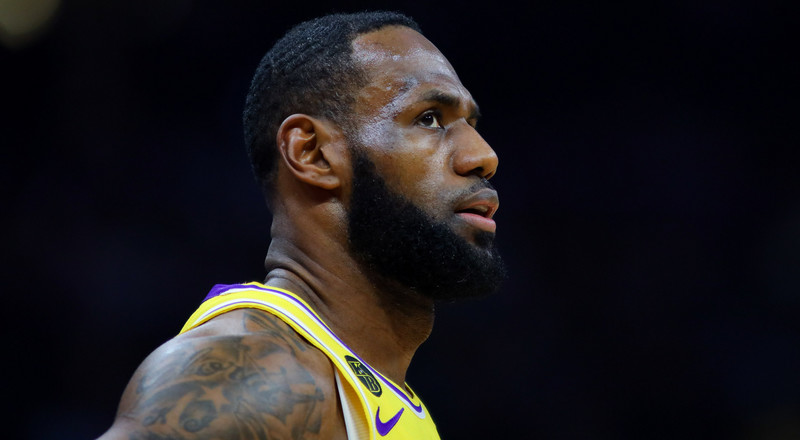 LeBron James says it's important for men to cry and 'be emotional'