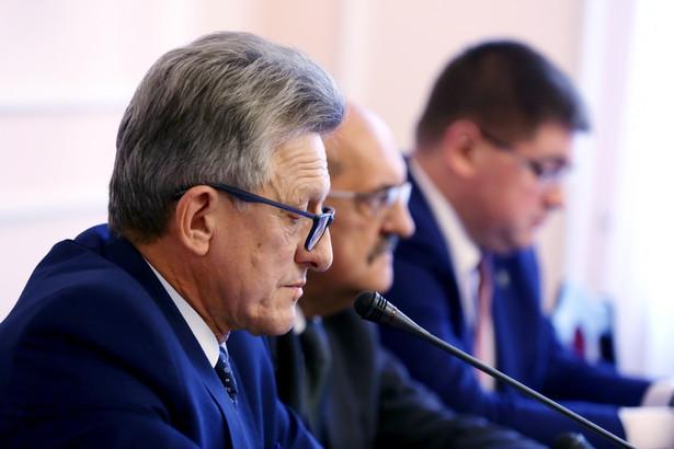 Stanisław Piotrowicz podczas posiedzenia sejmowej Komisji Sprawiedliwości i Praw Człowieka