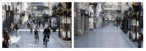 Beograd juče i danas