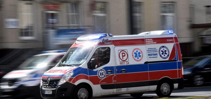 Horror w Warszawie. Mężczyzna wyskoczył z jadącego pociągu