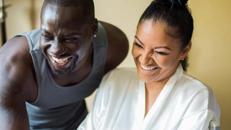 Chris Attoh's wife, Bettie Jenifer was shot dead in Maryland, United State of America. (Kemi Filani