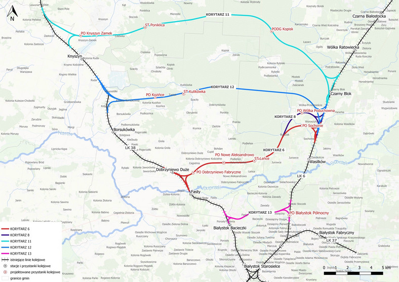 Obwodnica kolejowa Białegostoku- plany