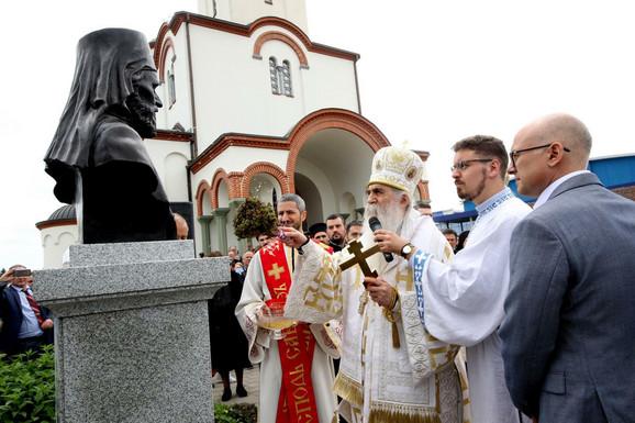 Otkrivanja spomen-biste Episkopa budimskog dr Danila Krstića