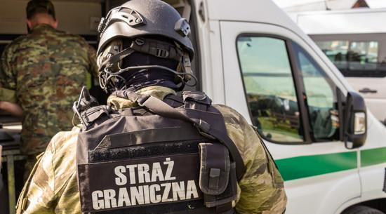 Straż Graniczna: Na granicy z Białorusią zmarł imigrant
