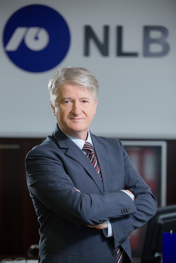 Branko Greganović, predsednik IO NLB banke