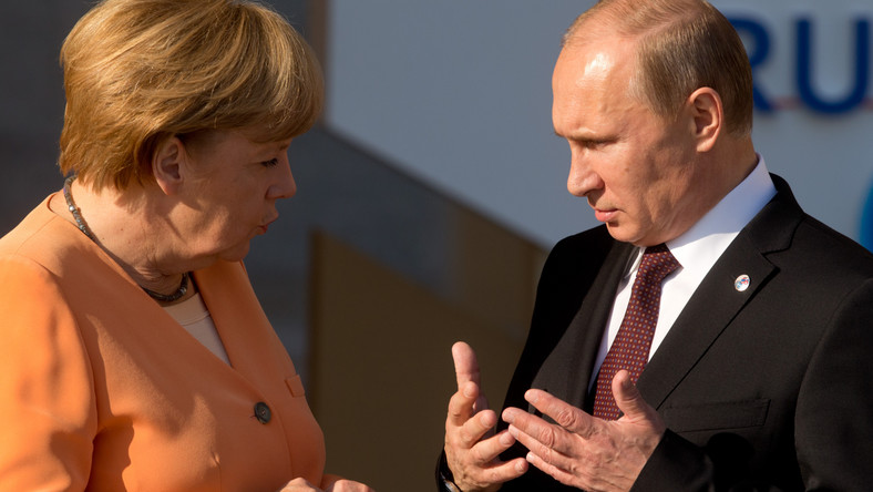 Putin rozmawiał z Merkel i Cameronem