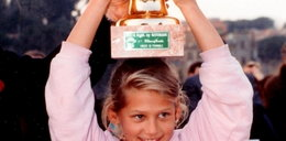 Piękna sportsmenka pochwaliła się zdjęciem z dzieciństwa